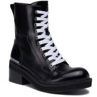 Botki jeans - ebba b4r0762 black marki Calvin klein