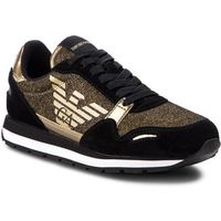 Sneakersy EMPORIO ARMANI - X3X058 XL617 00482 Black/Gold