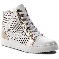 Sneakersy CARINII - B4321 G34-J16-000-B67, kolor biały