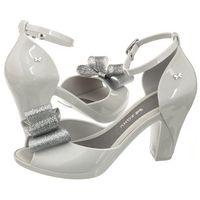 Sandały Zaxy Diva Top Sandal Fem 82442/50802 Szare/Srebrne (ZA58-a), kolor szary