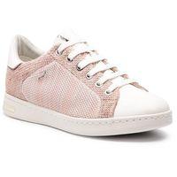 Sneakersy - d jsysen a d821ba 06kbc c7337 salmon/white marki Geox