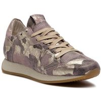 Sneakersy - monaco mnld cm01 camouflage metal lilac or, Philippe model
