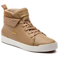 Sneakersy - explorateur classic3181caw 7-36caw0005ad6 lt tan/off wh, Lacoste