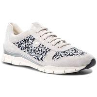 Sneakersy GEOX - D Sukie A D52F2A 0228M C1351 Off White/Black, 1 rozmiar
