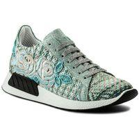 Sneakersy - 1036 acqua/ricamo, Hego's milano, 35-40