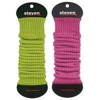Getry damskie art.092 rozmiar: uniwersalny, kolor: chabrowy, steven marki Steven