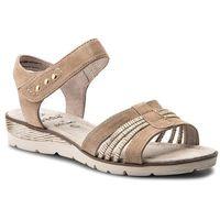 Sandały JANA - 8-28609-20 Beige 100, kolor beżowy