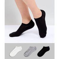 3 pack trainer socks in multi join life - multi, Oysho