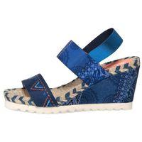 Desigual sandały damskie Ibiza Denim Beach 38 niebieski, kolor niebieski
