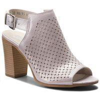 Sandały NESSI - 18660 Srebro Ct, kolor fioletowy