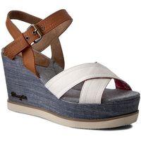 Sandały - jeena indigo cross wf0802712 white 51 marki Wrangler