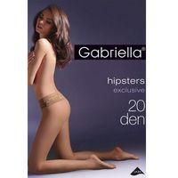 Gabriella Rajstopy klasyczne hipsters exclusive 20 den code 630 beige