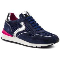 Sneakersy VOILE BLANCHE - Julia Race Mesh 0012013494.05.1C19 Blue/Argento, kolor niebieski