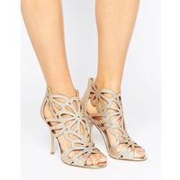 Miss kg flutter gold cut out heeled sandals - gold