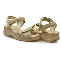 Sandały 320-321 beżowe marki Azaleia