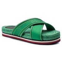 Espadryle - colorful tommy flat sandal fw0fw04159 jelly bean 321, Tommy hilfiger, 36-41
