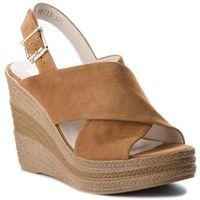 Sandały NESSI - 18347 Camel 19, kolor brązowy