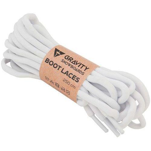 Sznurówki - snb boot laces white (white) marki Gravity