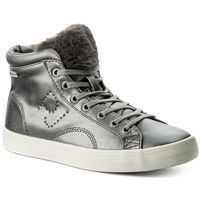 Sneakersy PEPE JEANS - Clinton Sally PLS30574 Silver 934, kolor szary