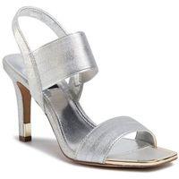 Sandały DKNY - Bryson K1039211 Elastic/Leather Silver Sil, kolor szary