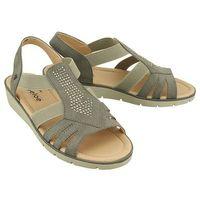 Aloeloe aa244025 szary, sandały damskie