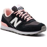 Sneakersy - wr996ack czarny szary, New balance, 36-37