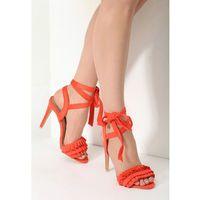Pomarańczowe sandały enthusiasm, Vices, 35-39