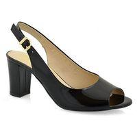 Sandały 4340 czarny lak, Anis, 36-40
