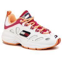 Tommy jeans Sneakersy - heritage retro wmn tommy sneaker en0en00777 white ybs