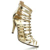 Sandały bonprix złoty, w 2 rozmiarach