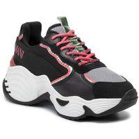 Sneakersy EMPORIO ARMANI - X3X088 XM059 R541 Blk/L.Gr/Straw/Green