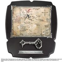 The noble collection Klucz i mapa thorina z filmu hobbit - deluxe - noble collection (nn1212)