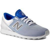 Sneakersy - wr996rbb biały granatowy, New balance