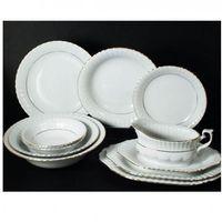 Serwis obiadowy 12/44 bw chodzież iwona b0142001 marki Chomik