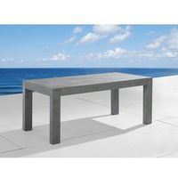 Stół betonowy 180cm - stół ogrodowy - stół betonowy - taranto marki Beliani