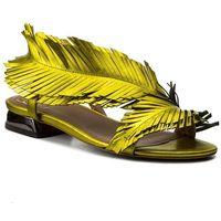 Sandały BALDOWSKI - D01988-3211-002 Ciniglia Żółta, kolor żółty