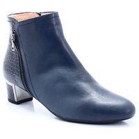 t2288a niebieskie- hiszpańskie botki - niebieski marki Brenda zaro