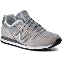 New balance Sneakersy - ml373gr szary