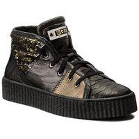 Sneakersy NESSI - 17213 Czarny Gad