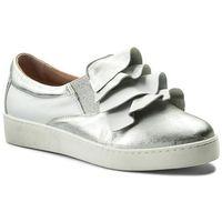 Sneakersy EKSBUT - 28-4822-369/378-1G Srebro, w 4 rozmiarach