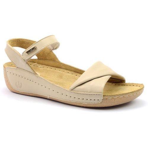 Sandały Lemar 50046 beż (10272886)
