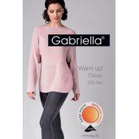 Gabriella 409 warm up 200 den nero rajstopy