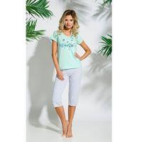 Piżama Taro Sylwia 086 kr/r S-XL '18 S, szaro-czerwony, Taro, 1 rozmiar