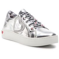 Sneakersy LOVE MOSCHINO - JA15133G17IC0902 Lam/Argent, kolor szary