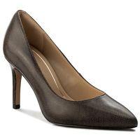 Szpilki CLARKS - Dinah Keer 261309304 Taupe Leather, kolor brązowy