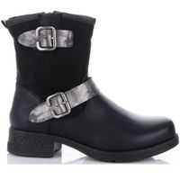 Firmowe Botki Damskie Lady Glory buty na każdą okazję wykonane z wysokiej jakości skóry eko Czarne (kolory), kolor czarny