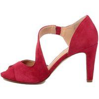 Eye damskie sandały 38 czerwony, kolor czerwony