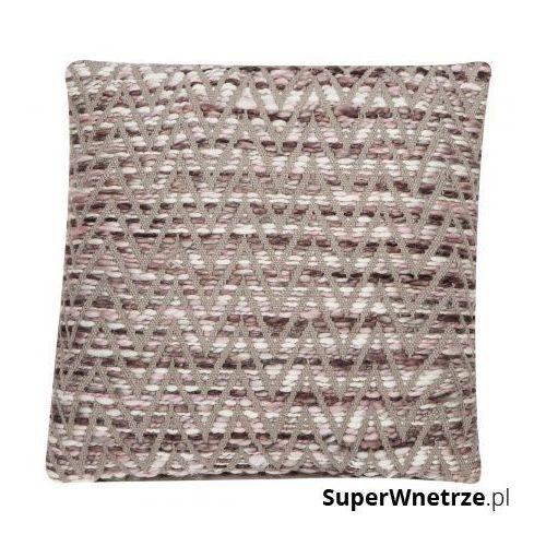 Gdzie kupić Poduszka 45x45cm zigzag melanż brązowa marki D2