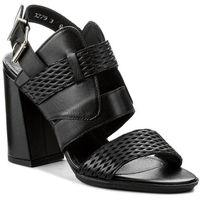 Sandały ANN MEX - 8678 01S Czarny Lico, w 5 rozmiarach