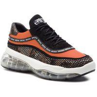 Bronx Sneakersy - 66260-pp bx 1562 black/orange 1386